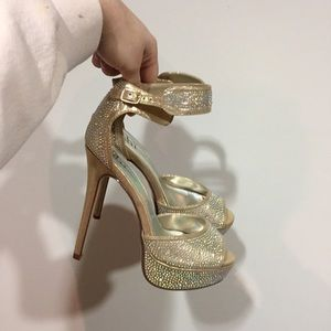 Journey's Glitter Stiletto heels